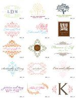 Pink, White, Green, Ceremony, Red, Wedding, Purple, Orange, Blue, Brown, Invitations, Black, Yellow, Inspiration, Board, Gold, Silver, Custom, Monogram, Ornate, Simply so stylish, Decorative, Free