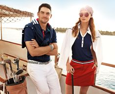 Keegan Bradley looks classic in Tommy Hilfiger Golf - now available at Golf4Her.com/Tommy