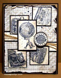 Stampin' Up! Traveler, Stamping with Julie Gearinger