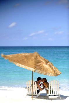 A romantic beach getaway in Nassau Paradise Island, The Bahamas