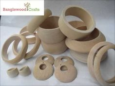 Gallery of Unfinished Wood Bangles