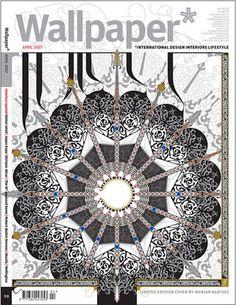 Wallpaper Magazine Cover  Design: Marian Bantjes