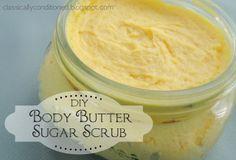 Classically Conditioned: Body Butter Sugar Scrub & Label Freebie