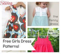 Free Sewing Patterns - Girls Summer Dresses