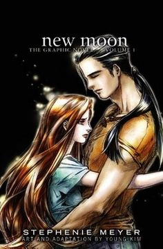 New Moon - Stephenie Meyer  Love it or hate it, there's something visceral about the manga-twist to the graphic novels.