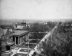 Peachtree Street, Atlanta  1870's view
