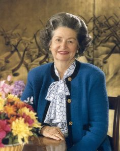 """Claudia """"Lady Bird"""" Johnson 1912-2007, born in Karnack, TX, First Lady of the US during the presidency of LBJ"""