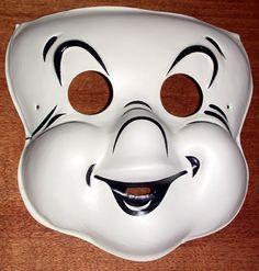 Vintage Casper the Friendly Ghost mask