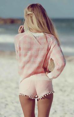 Great Mini Shorts Summer Beach Wear 2014