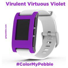 """Terry T. on Kickstarter wants """"Virulent Virtuous Violet!!!"""" Alliteration!"""
