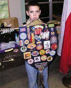 Cub Scout Arrow of Light Awards plaque banner