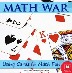 """""""Math War"""" is a great game to get kids to practice their #math facts daily. See our #LearningToolkit blog for details."""