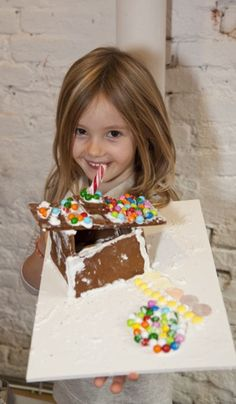 Modern Gingerbread Houses Made by Kids