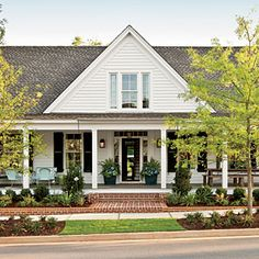 2012 Idea House: Farmhouse Restoration | Front Door | SouthernLiving.com - one of my all time favorite inspiration homes!