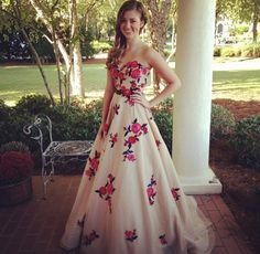 Sadie Robertson Homecoming 2013. Miss Sadie you are absolutely Beautiful!