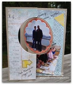 Stamp and Sew For Fun - Thinlit Circle Card Die, Stampin' up!