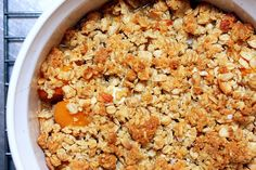 Breakfast apricot crisp #smittenkitchen