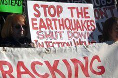 Regulators Ignore Fracking Earthquakes! Read more here.