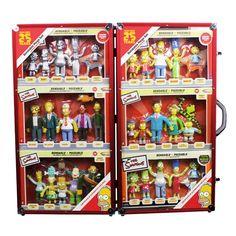 The Simpsons 25th Anniversary Bendable Figures Mega Set
