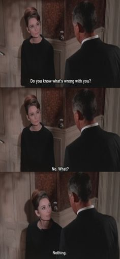 Charade - Audrey Hepburn and Cary Grant