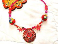 SALE TRIBAL KUCHI necklace Bohemian Necklace Gypsy by Nezihe1, $38.99