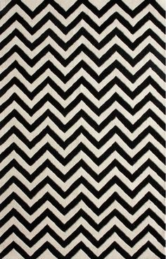 Rugs USA Spectrum Chevron Black Rug. Rugs USA Fall Sale up to 80% Off! Area rug, rug, carpet, design, style, home decor, interior design, pattern, trends, home, statement, fall,design, autumn, cozy, sale, discount, interiors, house, free shipping.