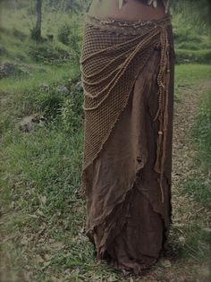 Brown Layered cotton