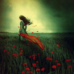 Dream Photography by Lilyenn | Cuded lilyenn, dream photographi, artsi fartsi, red, lone breez, art fantastiqu, artist work, beauti, brows deviantart