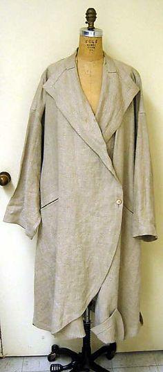 Coat (Duster)  Issey Miyake  (Japanese, born 1938),ca. 1984