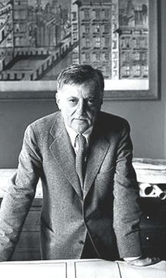 Aldo Rossi, architect and designer. Made of #Italians | #Expo2015 #people #Italy #Expo2015