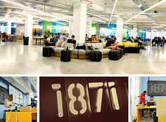 Take a peak at the spacious office of 1871 //