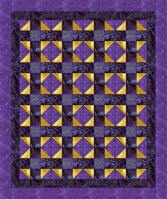 "Crown Royal Quilt pattern    50"" X  60""     FREE SHIPPING"