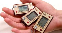 Solar-powered Nintendo keychain games. For the ADHD person in your life. lol