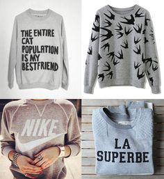 moda port, sudadera gris, tendencia 2014, tendencia pv