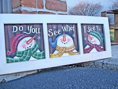 old window panes, kids chore charts, christmas presents, snowmen, snowman window, old windows christmas, kid chores, christmas painting ideas, painted window panes