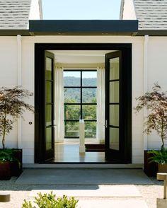modern french doors