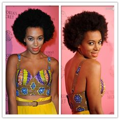 Short curls close to scalp for black women inspired by Solange Knowles, do you like? #shorthair #shortcurls