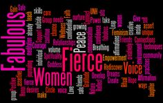 Being Fierce and Fabulous is a women's empowerment group that has been offered at UNH since 2007.   The group is open to female students at the University of New Hampshire.   The next group will start soon! Register online.