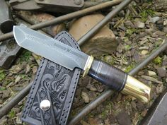 The Custom Shop Skull Crusher Valkyrie is more than just a workhorse of a knife, it's freakin bad ass too.