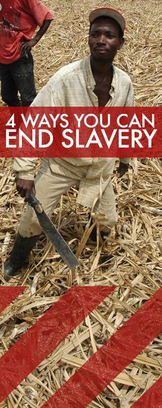 4 Ways You Can End Slavery. Moving beyond symbolic gestures to substantive action. #enditmovement - Every day, I think about, and remind others about #3. We can change SO MUCH if we make educated purchases. When exploitive companies don't listen.. always know that (unfortunately) they listen to money. Familiarize yourself with the companies whose products you purchase---and for the sake of others in unimaginable situations---please only purchase products from companies that respect others. ♥