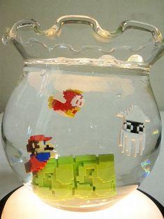 Super Mario Fishbowl