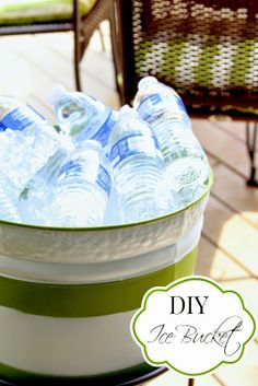 DIY ice bucket from Top This Top That