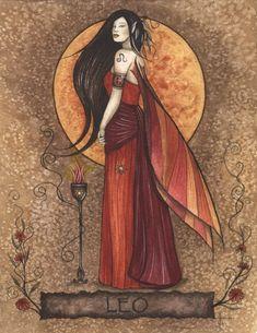 Leo Zodiac Fairy ~ Jessica Galbreth