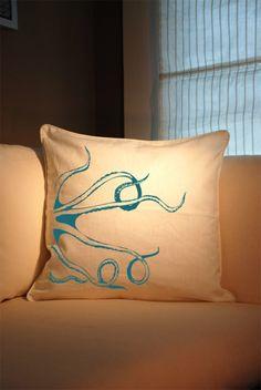 Octopus pillow #tentacles