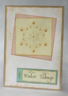 Paper Pierced Snowflake