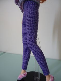 Barbie Basic Leggings (Free Crochet Pattern)
