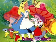 Una fiesta inspirada en el cuento de Alicia en el país de las Maravillas.  A party inspired by Alice in wonderland