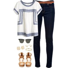 .Cute summer outfit, but with shorts