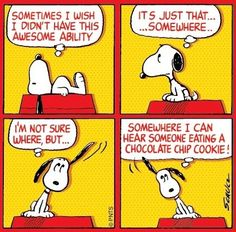Snoopy cartoon via www.Facebook.com/Snoopy
