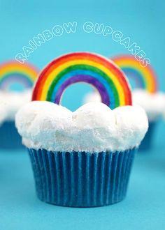 Rainbow Cupcakes by Bakerella
